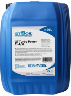 Масло моторное GT OIL Turbo Power 10W-40 CI-4